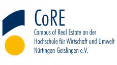 core-campus-of-real-estate-ev-logo-vector