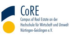 core-campus-of-real-estate-ev-logo-vector